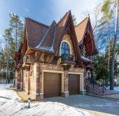 Самые красивые дома и коттеджи в России. Часть 1 - Кирпичные коттеджи