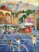 Подборка 5. Картины - Города и Села. Художница Наталия