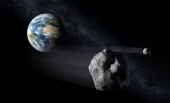 An asteroid the size of a house approached Earth