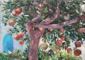 Подборка 1. Картины о Природе - Деревья. Художница Наталия